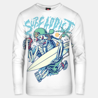 Thumbnail image of Surf Addict Unisex sweater, Live Heroes
