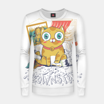 Thumbnail image of Meownster Women sweater, Live Heroes