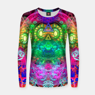Thumbnail image of Psychotropic Party (Blush) Women sweater, Live Heroes