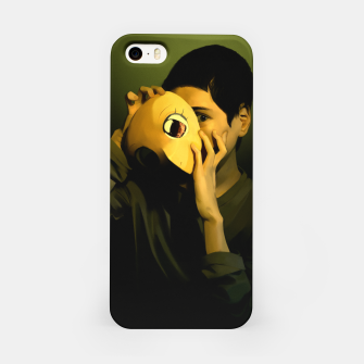 Thumbnail image of Self-portrait of a mask iPhone Case, Live Heroes