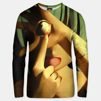 Thumbnail image of point of view Unisex sweater, Live Heroes