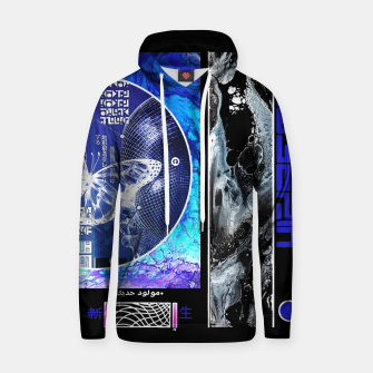 Thumbnail image of Vaporwave Butterfly Geometry Graphic Design Sudadera con capucha, Live Heroes