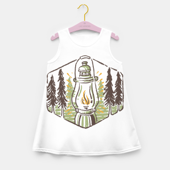 Thumbnail image of Latern for Adventure Girl's summer dress, Live Heroes