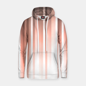 Thumbnail image of Aurora, coral pink vertical lines, pastel colours of the first rays sun light Hoodie, Live Heroes