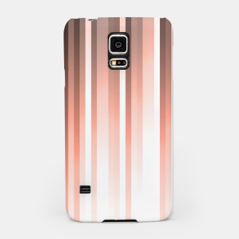 Thumbnail image of Aurora, coral pink vertical lines, pastel colours of the first rays sun light Samsung Case, Live Heroes