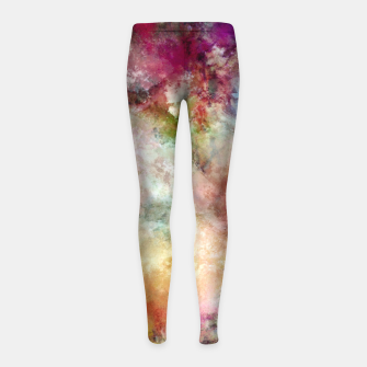 Thumbnail image of Beautiful angry place Girl's leggings, Live Heroes