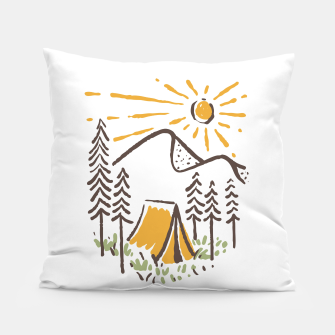 Thumbnail image of Camp Sunrise Pillow, Live Heroes