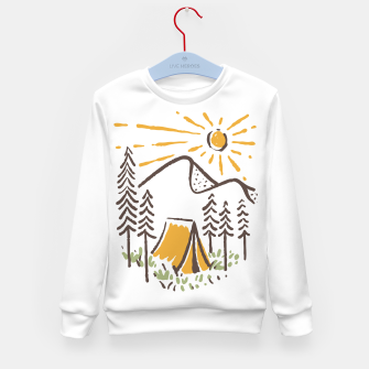 Thumbnail image of Camp Sunrise Kid's sweater, Live Heroes