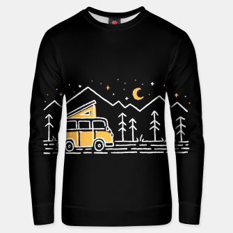 Thumbnail image of Adventure Car for dark Unisex sweater, Live Heroes
