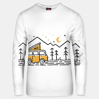 Thumbnail image of Adventure Car for light Unisex sweater, Live Heroes