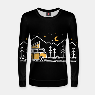 Thumbnail image of Adventure Car for dark Women sweater, Live Heroes
