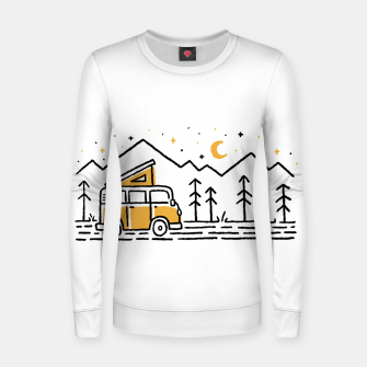 Thumbnail image of Adventure Car for light Women sweater, Live Heroes