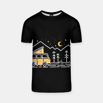Thumbnail image of Adventure Car for dark T-shirt, Live Heroes
