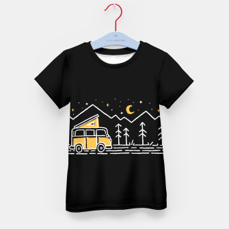 Thumbnail image of Adventure Car for dark Kid's t-shirt, Live Heroes