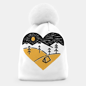 Thumbnail image of Camp Lover for light Beanie, Live Heroes