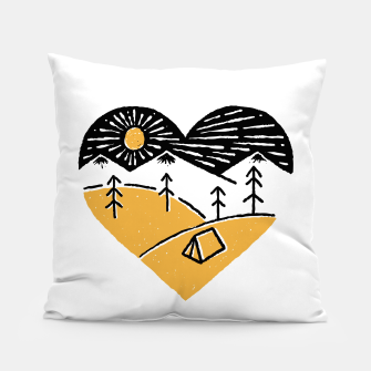 Thumbnail image of Camp Lover for light Pillow, Live Heroes