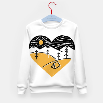 Thumbnail image of Camp Lover for light Kid's sweater, Live Heroes