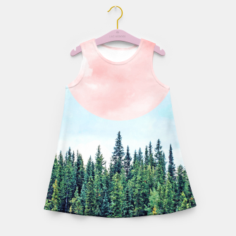 Thumbnail image of The Best Time For New Beginnings Is NOW Girl's summer dress, Live Heroes