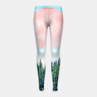 Thumbnail image of The Best Time For New Beginnings Is NOW Girl's leggings, Live Heroes