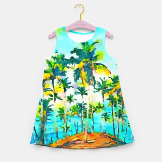 Thumbnail image of Seas the Day Girl's summer dress, Live Heroes