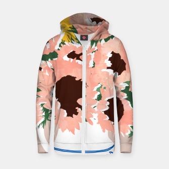Thumbnail image of Sunshine On a Cloudy Day Zip up hoodie, Live Heroes