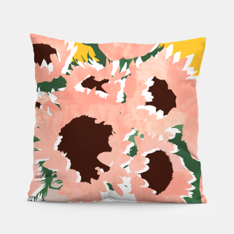 Thumbnail image of Sunshine On a Cloudy Day Pillow, Live Heroes