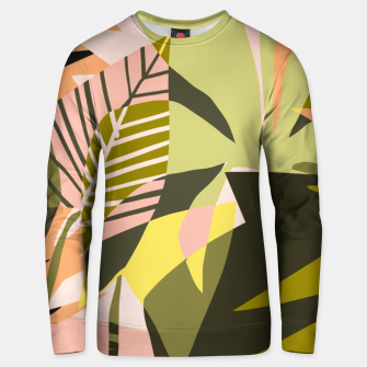 Thumbnail image of A Flower Blooms Best in a Happy Pot Unisex sweater, Live Heroes