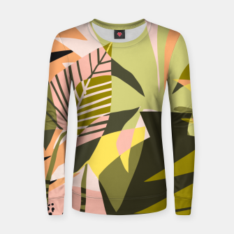 Thumbnail image of A Flower Blooms Best in a Happy Pot Women sweater, Live Heroes