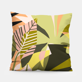 Thumbnail image of A Flower Blooms Best in a Happy Pot Pillow, Live Heroes