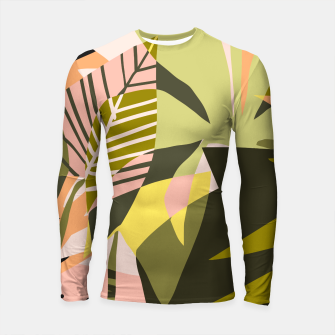Thumbnail image of A Flower Blooms Best in a Happy Pot Longsleeve rashguard , Live Heroes