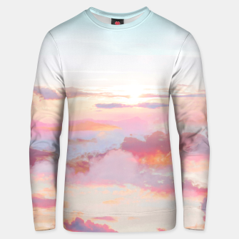 Thumbnail image of Blush Clouds Unisex sweater, Live Heroes