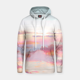 Thumbnail image of Blush Clouds Hoodie, Live Heroes