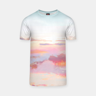 Thumbnail image of Blush Clouds T-shirt, Live Heroes