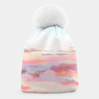Thumbnail image of Blush Clouds Beanie, Live Heroes