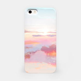 Thumbnail image of Blush Clouds iPhone Case, Live Heroes