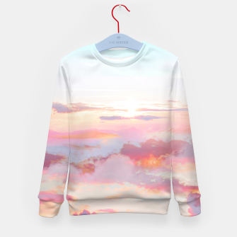 Thumbnail image of Blush Clouds Kid's sweater, Live Heroes