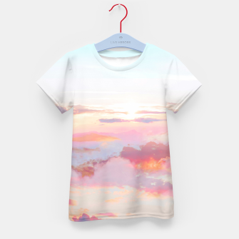 Thumbnail image of Blush Clouds Kid's t-shirt, Live Heroes