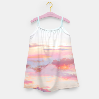 Thumbnail image of Blush Clouds Girl's dress, Live Heroes