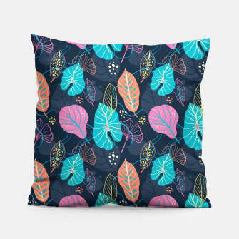 Thumbnail image of colorful leaves  Pillow, Live Heroes