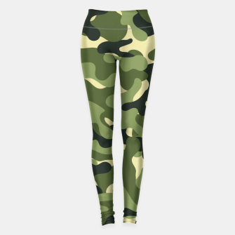 Thumbnail image of Green Camouflage Leggings, Live Heroes