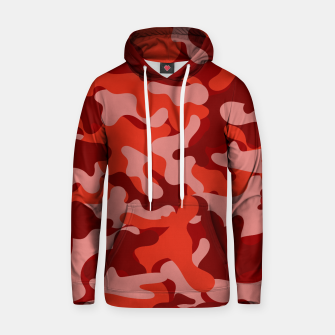 Red Camouflage Hoodie thumbnail image