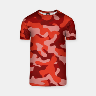 Red Camouflage T-shirt thumbnail image