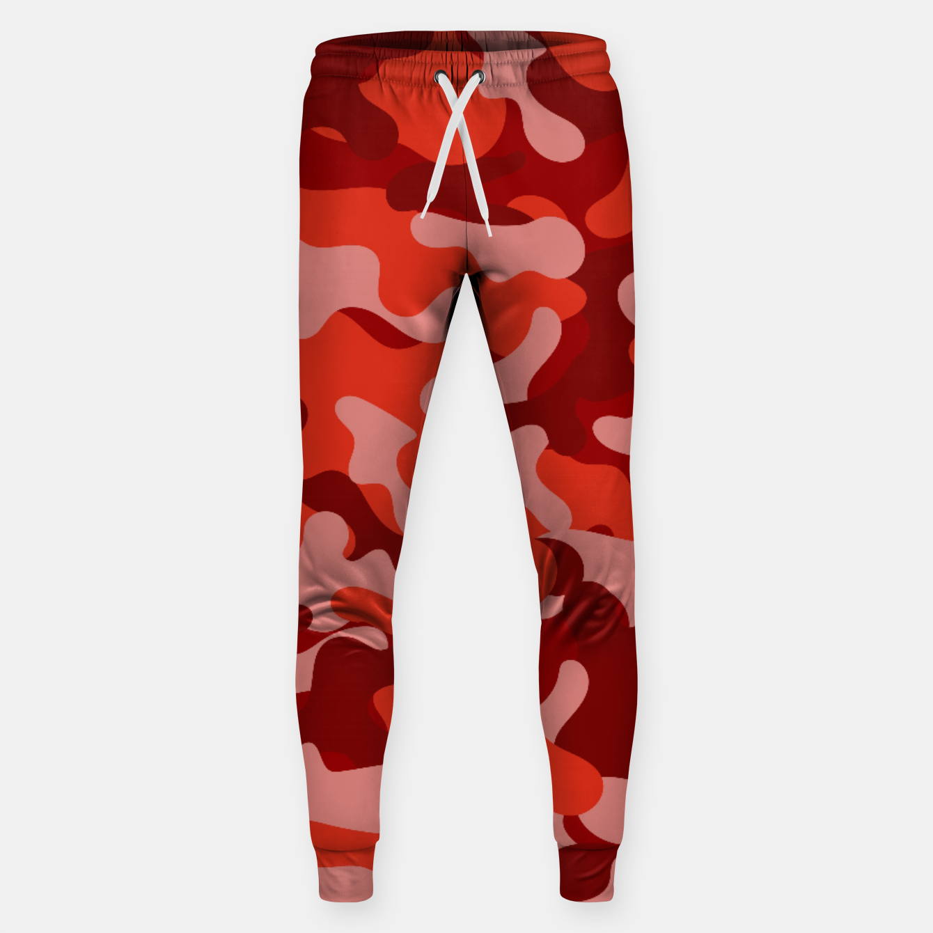 Image of Red Camouflage Sweatpants - Live Heroes