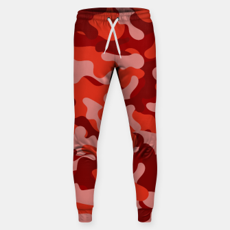 Red Camouflage Sweatpants thumbnail image