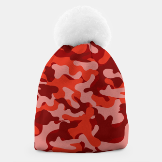 Red Camouflage Beanie thumbnail image