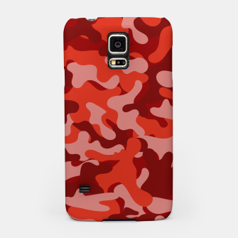 Red Camouflage Samsung Case thumbnail image