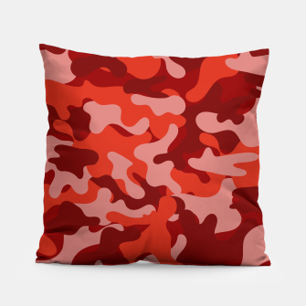 Red Camouflage Pillow thumbnail image
