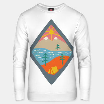 Miniaturka Beautiful Place for Camp Unisex sweater, Live Heroes