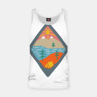 Miniaturka Beautiful Place for Camp Tank Top, Live Heroes