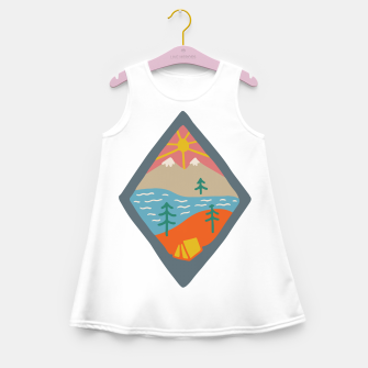 Thumbnail image of Beautiful Place for Camp Girl's summer dress, Live Heroes